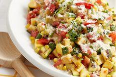 Grilled Garden Salad Recipe ~ #kraftrecipes