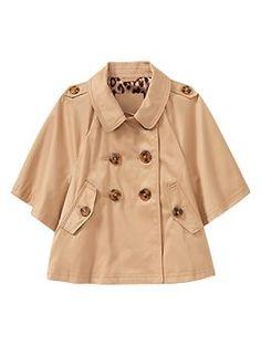 mini trench coat