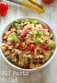 20-Minute BLT Easy Pasta Salad