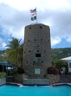 Blackbeard's Castle, St Thomas Island, US Virgin Islands.