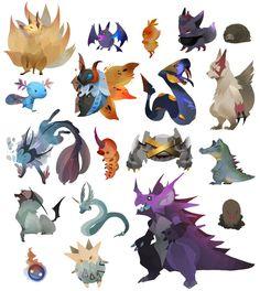 More Pokemon. by Wasil on deviantART