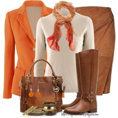 Ready for Fall!, created by tufootballmom on Polyvore