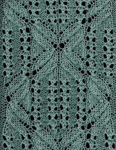 Knittingfool Stitch Gallery : Knit Swatches on Pinterest 356 Pins