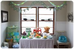 Birthday pennant banner - how to instructions