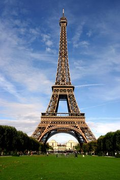 The Eiffel Tower, Paris, France  Can't wait to visit here again.,