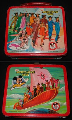 vintage lunchbox (I HAD THIS LUNCH BOX!)