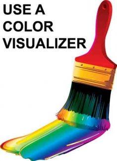 Color gray grey on pinterest for Valspar color visualizer