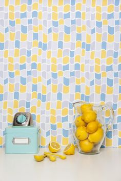 Kimberly Lewis Home Handprinted Wallpaper