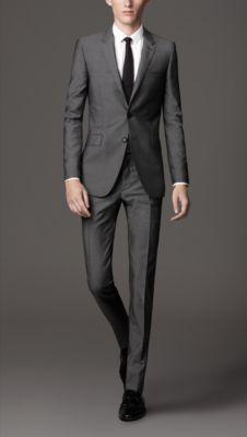 Slim Fit Wool Mohair Suit