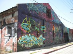 Street Art Graffiti From Downtown Los Angeles