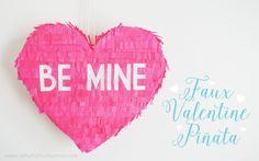 Faux Valentine Piñat