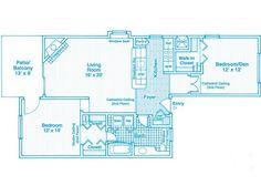 1000 Square Feet Apartment