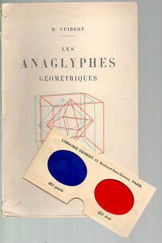 Anaglyphes géométriques