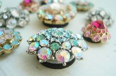 Jewelry magnets: jewelry glue to adhere some heavy strength magnets to the backs of inexpensive earrings.