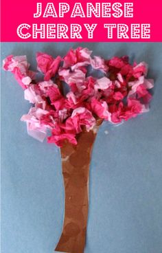 Japanese Cherry Tree Craft