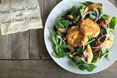 Warm Spinach Salad w