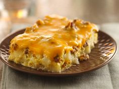 Overnight Tex-Mex Egg Bake Spice up your breakfast menus by serving an egg casserole featuring spicy sausage, green chiles and salsa.