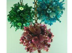 pins + beads = beaded pretties