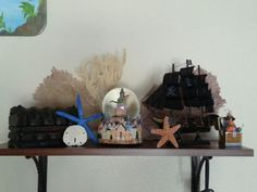 Pirate shelf