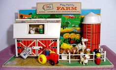 the doors, toy, little people, barn doors, childhood memori, vintage fisher price, the farm, farm playset, price farm
