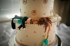 Hilarious wedding cake!