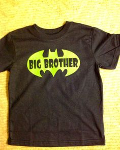 Personalized Big Brother T Shirt