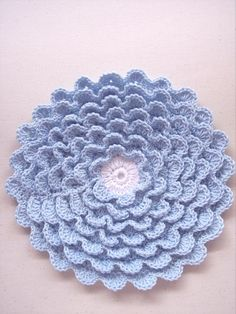 pretty hotpad - free pattern