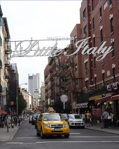 Little Italy in NYC---one of my favorite places ever!!!