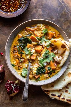 Gingery Coconut Sweet Potato and Rice Stew with Chili Oil. - Half Baked Harvest