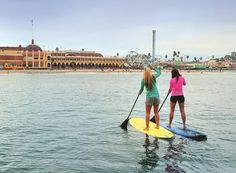 10 great places to try stand-up paddle boarding