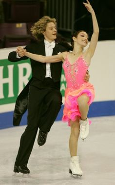 Davis and White- Ice Dancing costume inspiration for Sk8 Gr8 Designs.