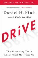 August 4th: Pink argues that the secret to high performance and satisfaction in today's world is the deeply human need to direct our own lives, to learn and create new things, and to do better by ourselves and our world.