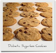 Diabetic Recipes: Diabetic Sugarless Cookies