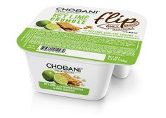 Chobani Key Lime Crumble; my new obsession!! It's under 200 calories and is perfect for when you have a sweet tooth plus it has the Superfood Greek Yogurt. Yum!