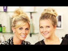 2 Ways To Do a Messy Bun!! - YouTube
