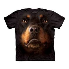 Rottweiler Face Tee Adult now featured on Fab.