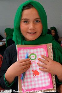 Educate Girls for a Peaceful World at The Literacy Site