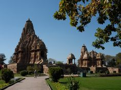 Amazing Temple Cluster in Khajuraho. One can visit it from Agra or Jabalpur. Panna Wildlife Sanctuary is very close to this place.