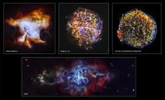 Tomorrow marks the 15th anniversary of the Chandra X-ray Observatory's launch! In commemoration, four newly processed images of supernova remnants dramatically illustrate Chandra's unique ability to explore high-energy processes in the cosmos. Credit: NASA Chandra.