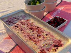 7gramas de ternura: Gelado de Cheesecake de Frutos Vermelhos