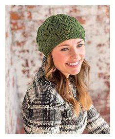 Salunga Lace Beret, As Featured on Knitting Daily TV with Vickie Howell, Episode #1308 - Media - Knitting Daily