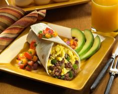 Egg Filled Breakfast Burrito Recipe