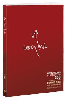 Awesome Awesome Awesome.. Francis Chan is the author, had the chance to see him live, what a blessing.  Crazy Love like God has shown you --reflected in all that you do.