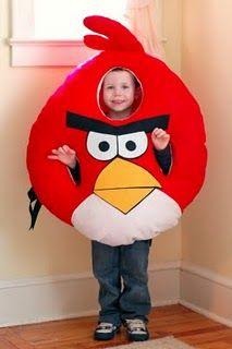diy angry bird costume