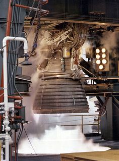 The original J2 rocket engine.  What took man to the moon.