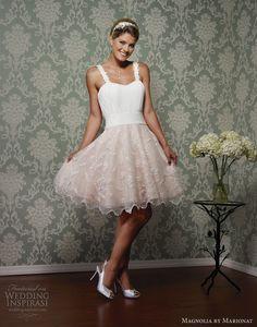 magnolia by marionat spring 2013 wedding dress mini skirt style 5084mini