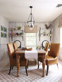 Beautiful dining rooms!