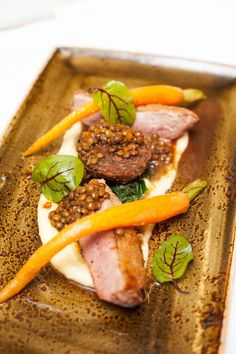 Autumn duck Dish at