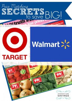 In addition to the Walmart Coupon Policy and the Target Coupon Policy I wanted to share a few Target & Walmart Price Match Policy Tips and Tricks. Price matching is one of my all time favorite ways to save money!