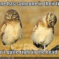 Everyone has someone in their lives  who isn't quite right in the head